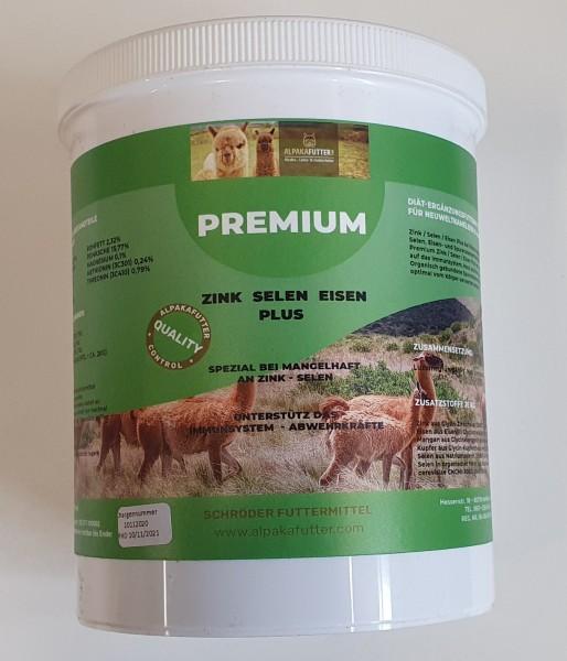 Premium Zink / Selen Plus für Alpakas und Lamas