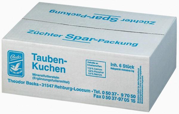 """Backs Taubenkuchen """"Züchterpackung"""" 6 Stück"""