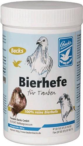 Backs Bierhefe (100% rein u. natürlich) 800g