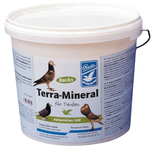 Backs Terra- Mineral 4 kg